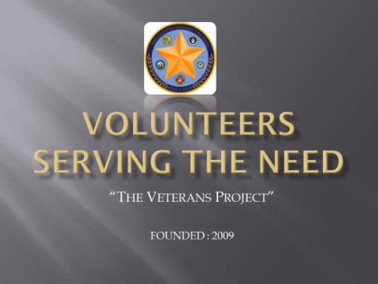 Volunteers Serving the Need